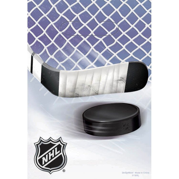 Nhl Hockey Party Supplies Favor Bags (6 Pack) BB373834