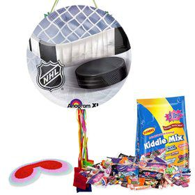 NHL Hockey Pull String Pinata Kit