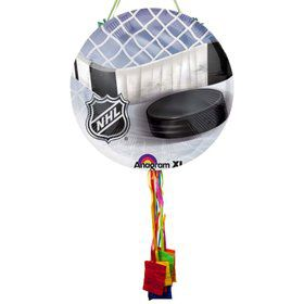 NHL Hockey Pull String Pinata
