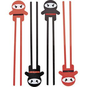 Ninja Plastic Chopsticks (12 Pack)