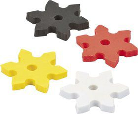 "Ninja Star 2"" Eraser Favors (12 Pack)"