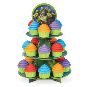 Ninja Turtle Cupcake and Treat Stand