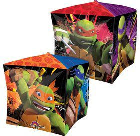 "Ninja Turtles 15"" Cubez Balloon (Each)"