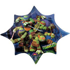 "Ninja Turtles 35"" Shape Balloon (Each)"
