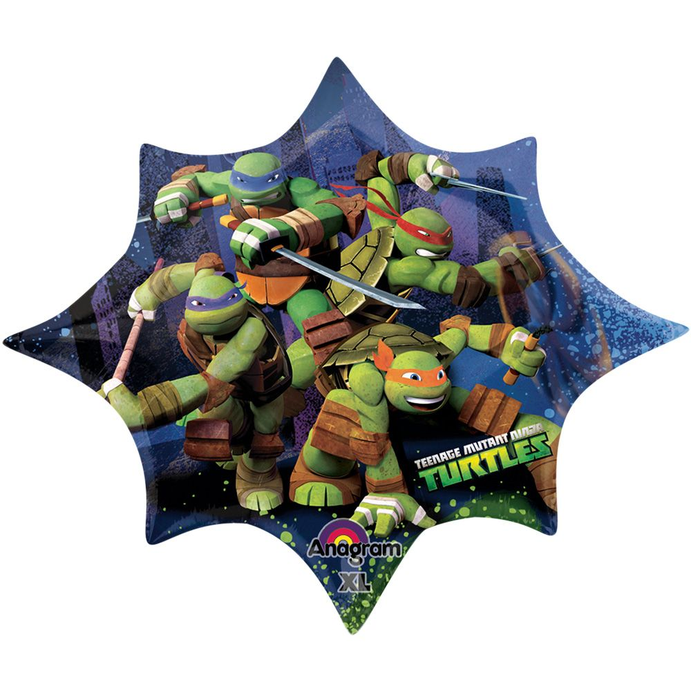 "Ninja Turtles 35"" Shaped Balloon (Each) - Party Supplies BB60865"