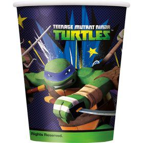 Ninja Turtles 9Oz Cups (8 Count)