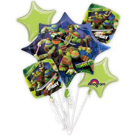Ninja Turtles Balloon Bouquet (Each)