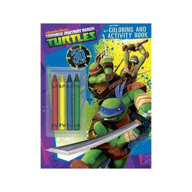 Ninja Turtles Color And Activity Book (Each)