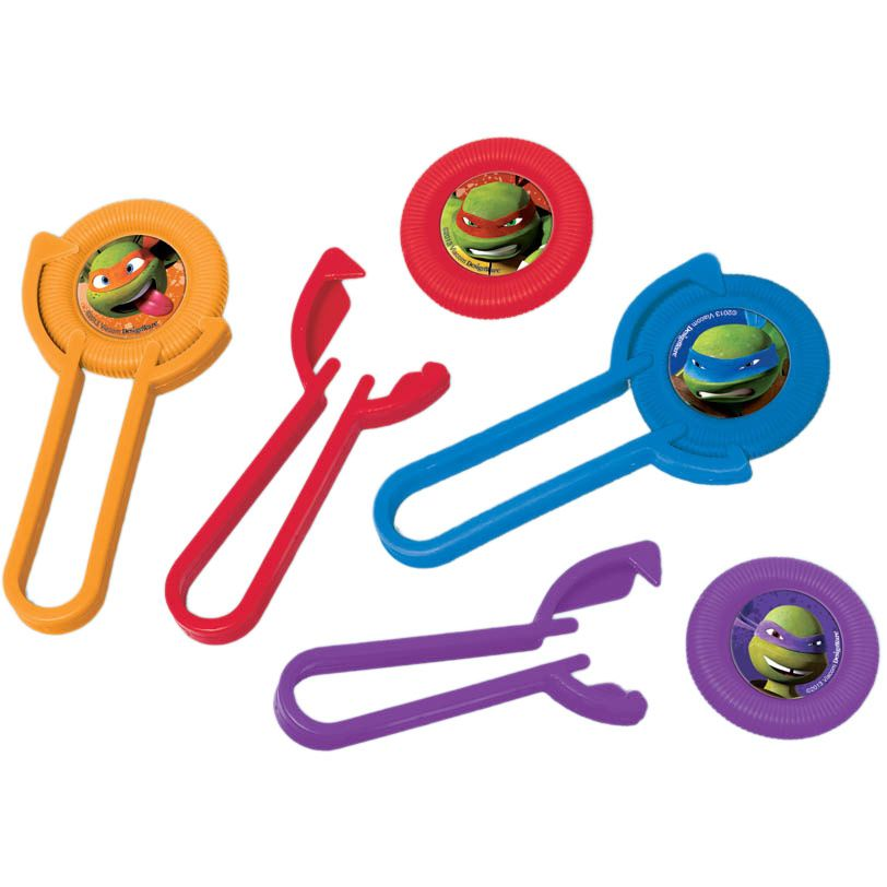 Ninja Turtles Disc Shooters (12 Pack) - Party Supplies BB391603