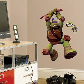 Ninja Turtles Donatello Giant Wall Decal (17 Piece)