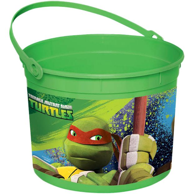 Ninja Turtles Favor Container (Each) BB265074