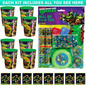 Ninja Turtles Favor Kit (For 8 Guests)
