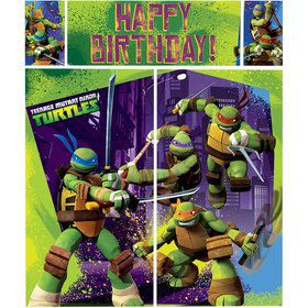 Ninja Turtles Party Scene Setter (Each)