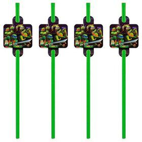 Ninja Turtles Party Straws (16 Count)