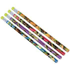 Ninja Turtles Pencils (12 Pack)