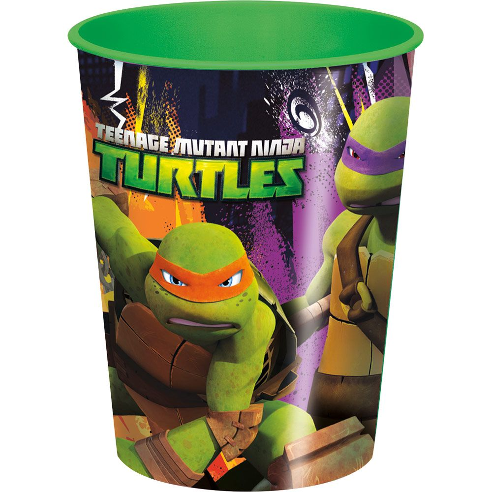 Ninja Turtles Plastic Cup 16 Oz. (Each) BB44728