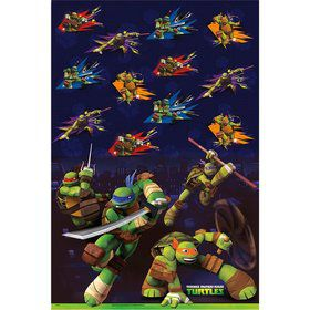 Ninja Turtles Plastic Tablecover (Each)