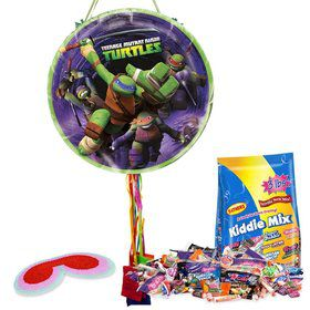 Ninja Turtles Pull String Pinata Kit