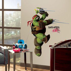 Ninja Turtles Raphael Giant Wall Decal (15 Piece)