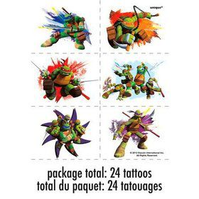Ninja Turtles Tattoo Sheets (4 Sheets)
