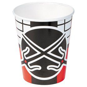 Ninja Warrior 9oz Cups (8 Count)
