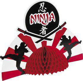Ninja Warrior Centerpiece Decoration (Each)
