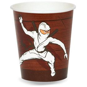 Ninja Warrior Party 9 oz. Paper Cups
