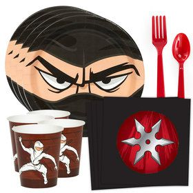 Ninja Warrior Standard Tableware Kit (Serves 8)