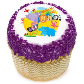 "Noah's Ark 2"" Edible Cupcake Topper (12 Images)"