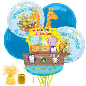 Noah's Ark Baby Shower Balloon Bouquet Kit