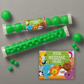 Noah's Ark Personalized Candy Tubes (12 Count)