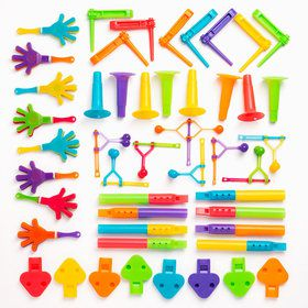 Noisemaker Assortment PInata Filler (48pcs)