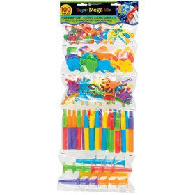 Noisemaker Mega Mix Favor Pack (100 Pieces)
