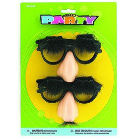 Nose Glasses and Mustache Set (4)