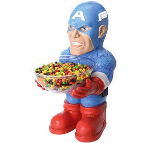 Novelty Captain America Candy Bowl Holder