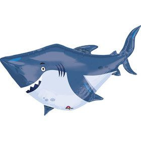 Ocean Buddies Shark JUMBO Shaped Foil Balloon