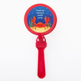 Ocean Friends Personalized Clappers (Set of 12)