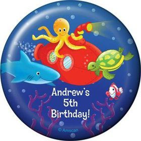 Ocean Friends Personalized Magnet (each)