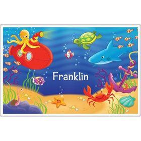 Ocean Friends Personalized Placemat (each)