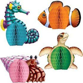 Ocean Party Centerpiece (set of 4)