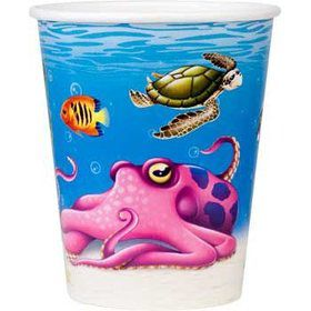 Ocean Party Cups (8-pack)