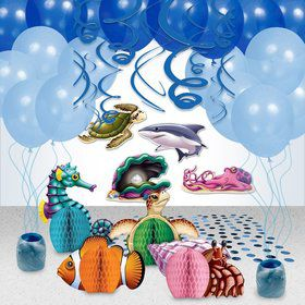 Ocean Party Decoration Kit