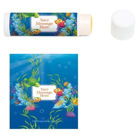 Ocean Party Personalized Lip Balm (12 Pack)