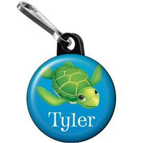 Ocean Party Personalized Mini Zipper Pull (each)