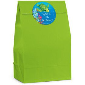 Ocean Personalized Favor Bags (Pack of 12)