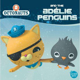 Octonauts and the Adelie Penguins - 8x8 Book