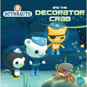 Octonauts and the Decorator Crab - 8x8 Book