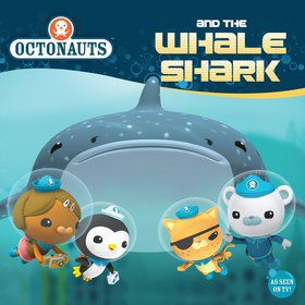 Octonauts and the Whale Shark - 8x8 Book