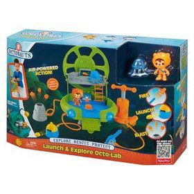 Octonauts Launch and Explore Octo lab