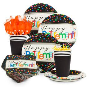 Officially Retired Party Standard Tableware Kit (Serves 8)